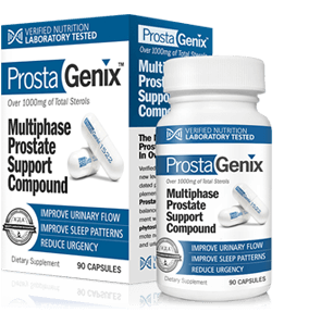 ProstaGenix Customer Reviews Bottle and Box